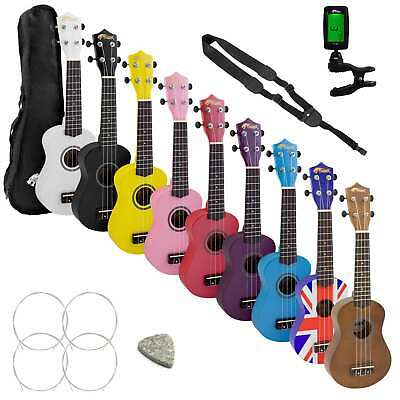 Tiger Soprano Ukulele Kit Beginners Pack
