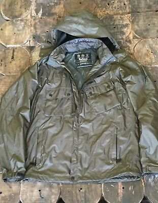 barbour international jacket Waterproof Breathable Olive Ashby Bedale Small