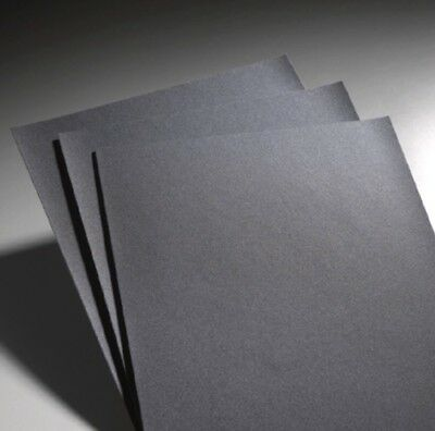 "Waterproof Sand Paper 9""X11"" Silicon Carbide Pack Of 100 180 Grit"