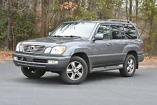 2006 Lexus LX  2006 Lexus LX470 LX 470 Land Cruiser Southern Car, Rust Free, Dealer maintained