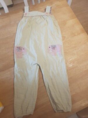 Boden Elephant Dungarees 2-3