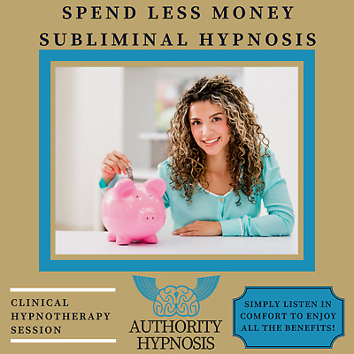 Spend Less Money Hypnosis, Save Money Wisely, Debt Free Life, Increase Wealth
