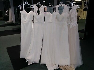 NWT Lot of 5 Current Davinci Wedding Gowns - $479 free ship