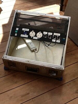 """19"""" rack case. removable lid. 9U space by 5 1/2"""" deep. ideal for patch panels."""