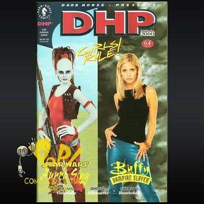 DARK HORSE Presents (1986) ANNUAL 2000 Girls Rule BUFFY & Star Wars FLIP Book NM