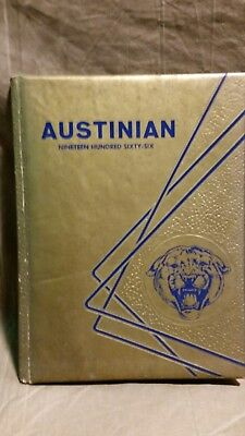 African American Yearbook Austin High School Austinian Knoxville Tennessee 1966