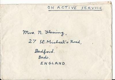 1947 Singapore South East Asia Land Force To  Uk  F.p.o.18 (49)
