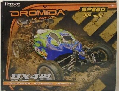Dromida BX4.18BL 1/18 RTR 4WD Brushless Buggy DIDC0053