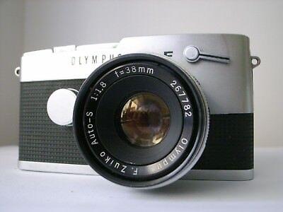 Olympus-Pen FT with 38mm F1.8 Zuiko Lens and ER Case
