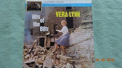 "Vera Lynn  "" Hits of the Blitz ""   1  LP   Jazz       RAR"