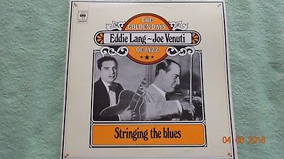 "Eddie Lang - Joe Venuti "" Stringing the Blues ""   1 Doppel  LP   Jazz       RAR"