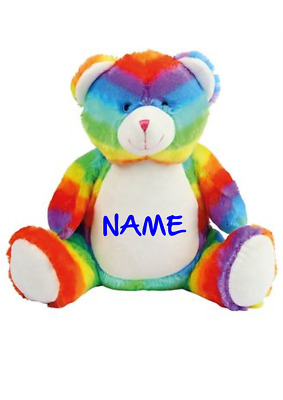 Gift  Embroidery personalised TOYS Any Name, for boys OR girls, birth cristening
