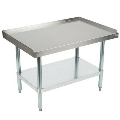 Heavy Duty Stainless Steel Equipment Grill Table Stand 30 x 30
