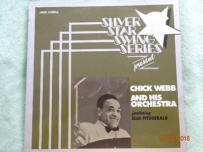 Chick Webb & His Orch. featuring Ella  Fitzg.  1  LP  Jazz       RAR