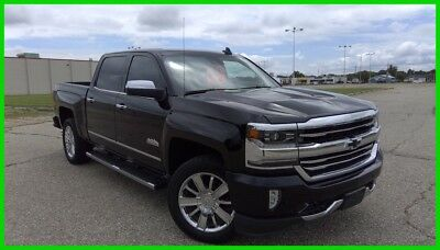 Chevrolet Silverado 1500 High Country 2017 High Country Used 6.2L V8 16V Automatic 4WD Pickup Truck OnStar Bose