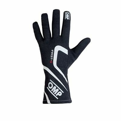 OMP Racing IB761ENS First-S Driving Gloves Black (Size: Small)