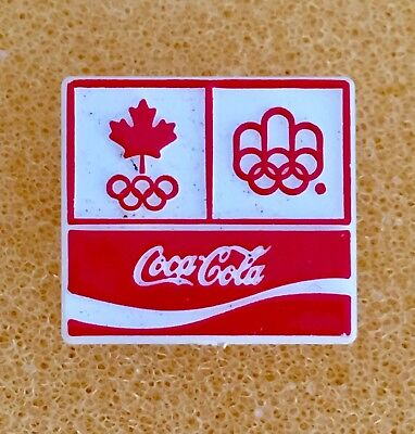 6 Coca Cola Montreal 1976 Olympic XXI Pins