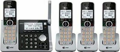 AT&T DECT 6.0 Digital Four Handset Answering System (CL83464)