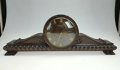 Large Westminster Chime Napoleon Hat mantle clock Kienzle