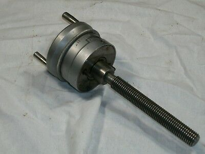 Lathe compound hand wheel dial/lead screw with compound inch/metric dial