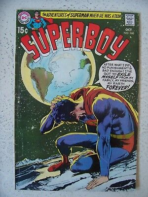 SUPERBOY #160 VG/F+   NEAL ADAMS cover