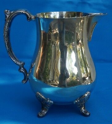Antique Silver Water Pitcher - Nice Condition