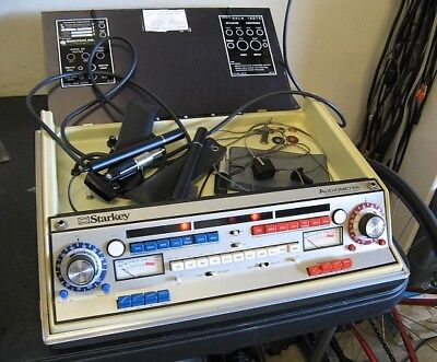 Starkey Model AALW Audiometer With Bone Phones No Cover