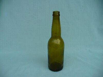 Vintage Schmich Bros. Brew's Freeport, Ill Beer Bottle Amber Good Cond.