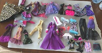 Monster High Doll Clothes Ever After High Clothes Lot