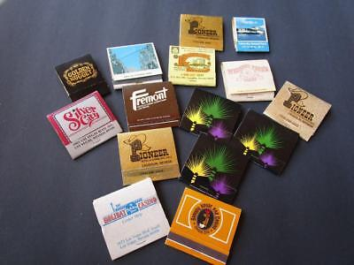 Vintage Contemporary Mixed Lot Casino Hotel Matchbook Lot 15 Books Veags More