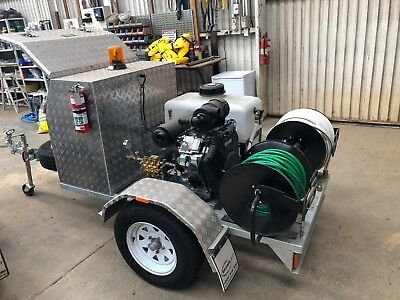 2017 Sewerjett Jettrodder Trailer-mounted with accessories for Plumbers for sale
