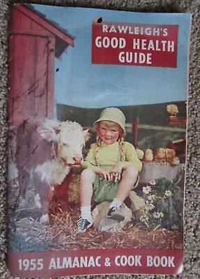 "Rawleigh's ""Good Health Guide"", 1955 Almanac and Cook Book"
