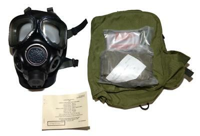 US Military M-40 Gas Mask & Accessories