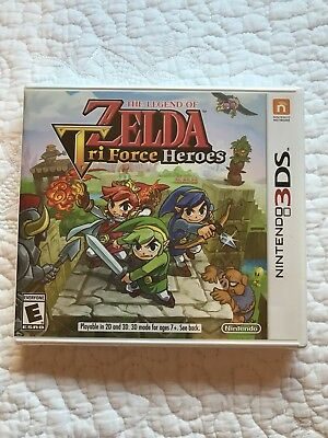 Legend of Zelda: Tri Force Heroes (Nintendo 3DS, 2015)
