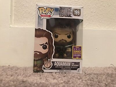 Aquaman And Motherbox 2017 Summer Convention Exclusive Funko Pop