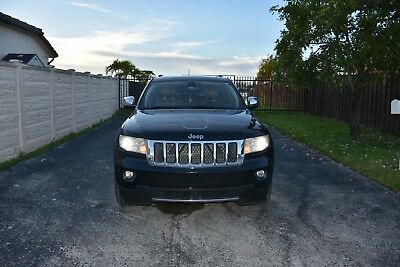 2011 Jeep Grand Cherokee Overland Used Jeep Grand Cherokee Overland 3.6L - ONE OWNER