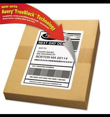 Avery 8126 Shipping Labels   Fast Free Shipping