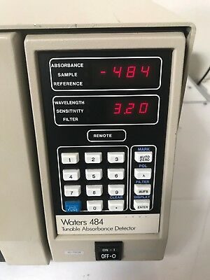 Waters Millipore HPLC  2 Model 484 M484 Tunable Absorbance Detector