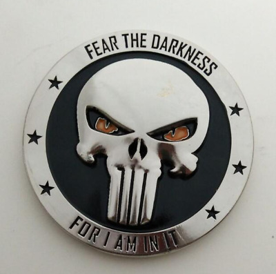 SDVT-2 Coin With Silver Punisher