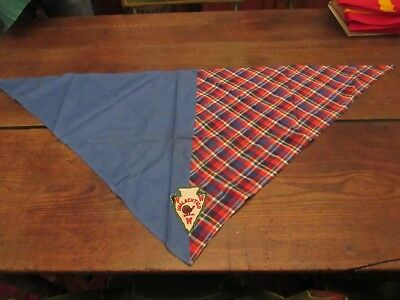 Lot Of 2 Vintage Boy Scout Neckerchiefs Patch Order Of The Arrow Unalachtigo