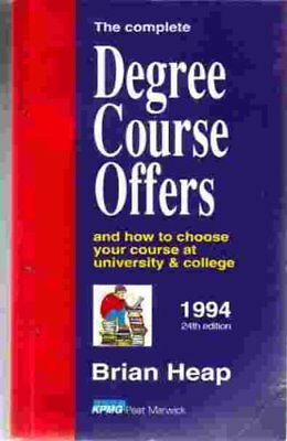 The Complete Degree Course Offers 1994 Paperback Book The Cheap Fast Free Post