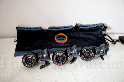 Cinetics CineSkates Camera Dolly Wheels for GorillaPod Tripod