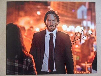 "Keanu Reeves Signed ~Autographed Photo ""Action Star"""