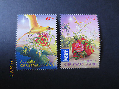 No--1---2010    Christmas  Island Christmas   Issued 2  Stamps --Mint