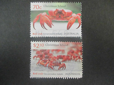 N.o-2---2014    Christmas  Island   Crabs    Issue   2   Stamps  -Used -- A1