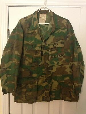 RDF Hot Weather Camouflage Camo Shirt Special Ops USMC Marines ERDL Medium Short