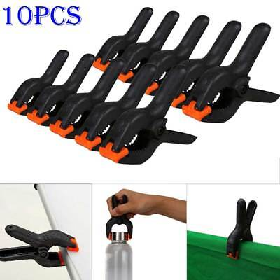 10pc Photo Studio Light Photography Background Clips Holder Backdrop Pegs Clamps