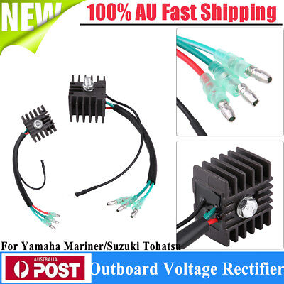 For Yamaha Outboard Motor Voltage Regulator Rectifier Replacement  Plug & Play