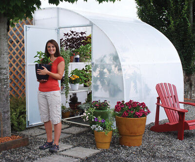 Solexx Harvester 8 Ft. W x 24 Ft. D Lean-To Greenhouse