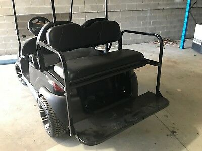 4 Seat Conversion Kit to Suit Club Car Precedent Golf Cart Black
